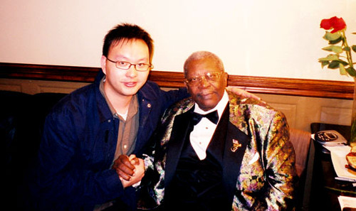 Henry Chung and BB King